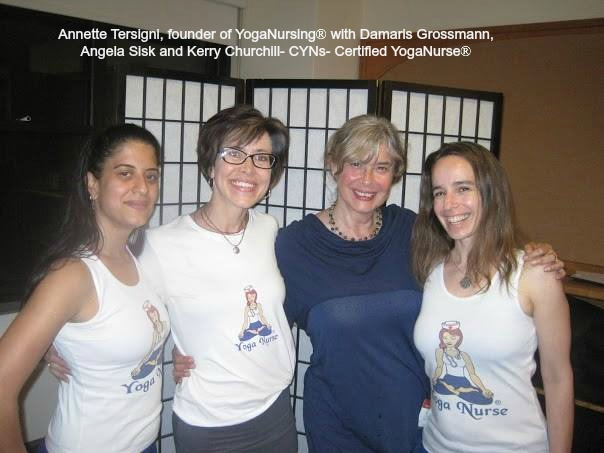 Yoga Nurse- training and certification in Yoga Nursing, speaker- nurse stress relief, medical yoga.