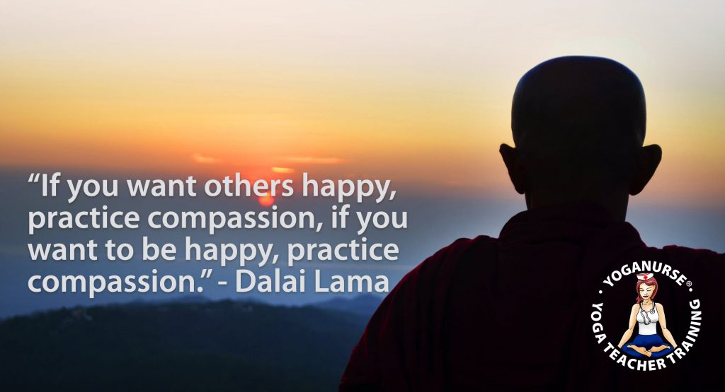 If you want others to be happy, practice compassion. If you want to be happy, practice compassion - Dalai Lama