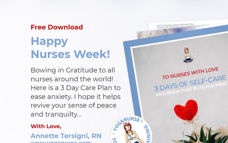 3 Day Care Plan GIVEAWAY for Nurses Week